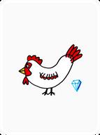 """""""Diamond Hands"""" Hen"""