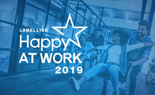 Néo-Soft remporte le label Happy At Work 2019