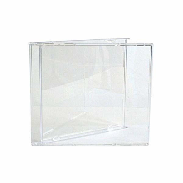 3914 estuche cd transparente