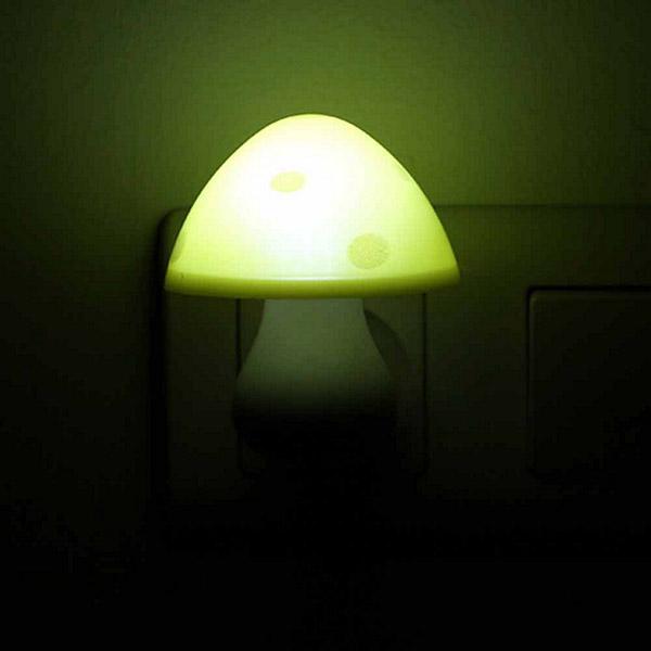1220 luz noche infantil sensor seta amarilla
