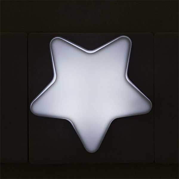 1220 luz noche infantil con sensor estrella