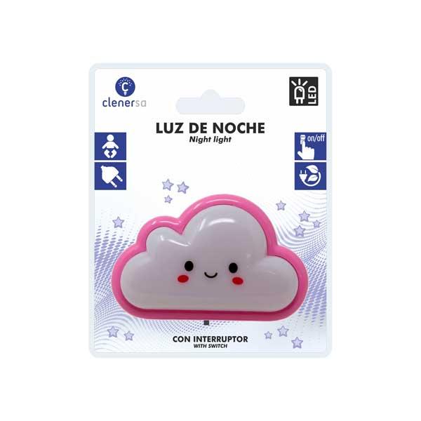 1208 Luz de noche nube rosa presentacion