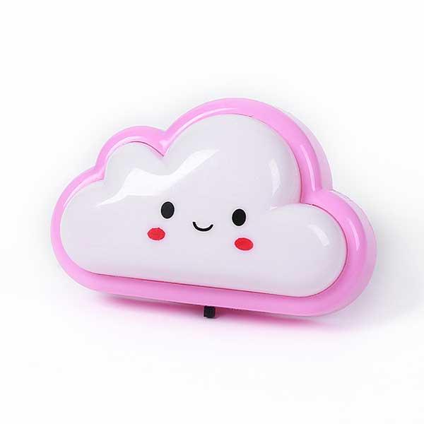 1208 Luz infantil nube rosa