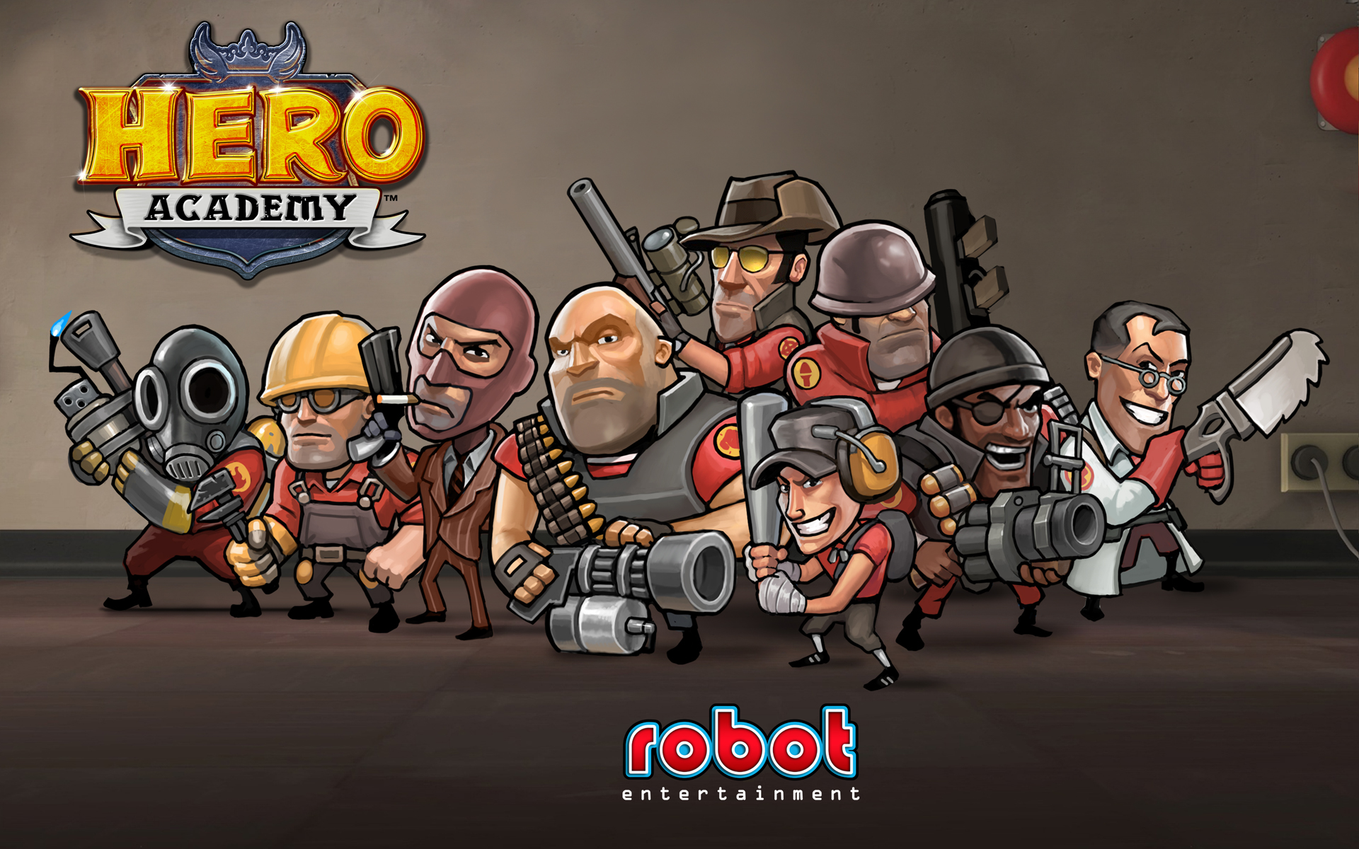 Hero Academy: Enter The Cast Of Team Fortress 2?