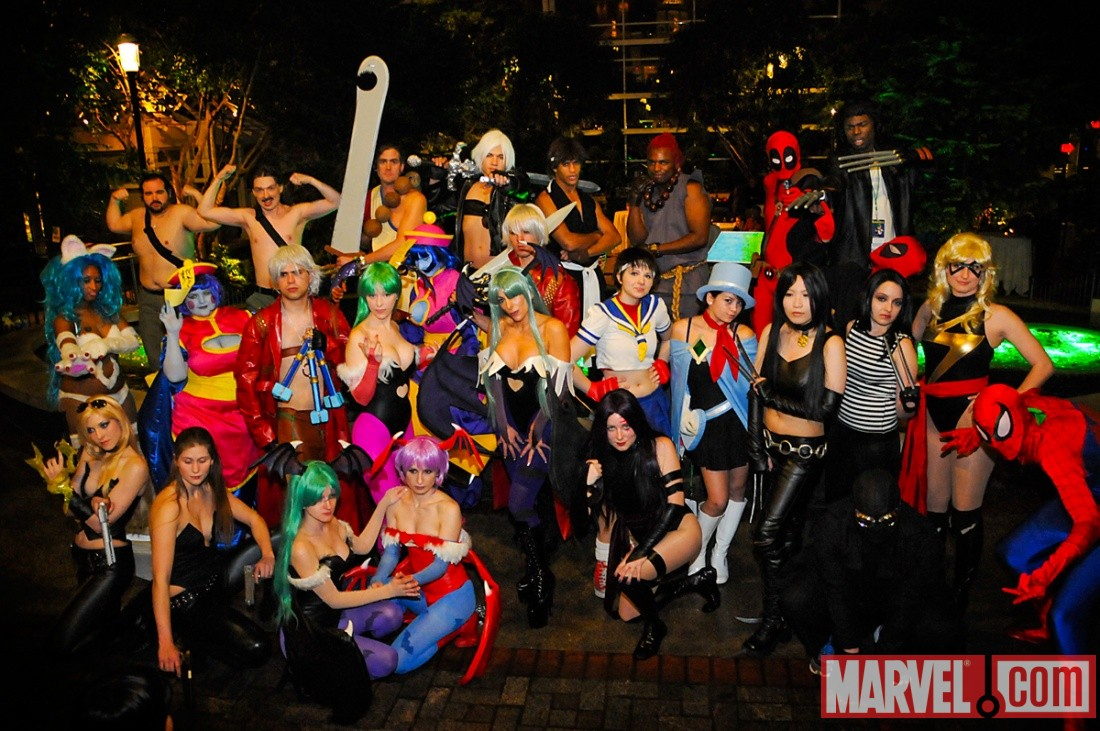 Marvel Vs  Capcom cosplay at Katsucon 2011 – Nerd Appropriate
