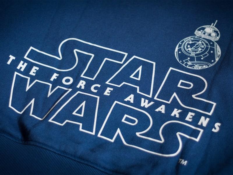 Imagem de destaque do post Camisetas Star Wars para os fãs de todas as galáxias