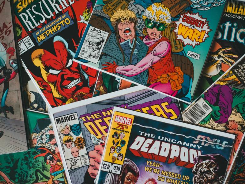 Imagem de destaque do post Histórias em quadrinhos: dos gibis para as telas da tevê e do cinema