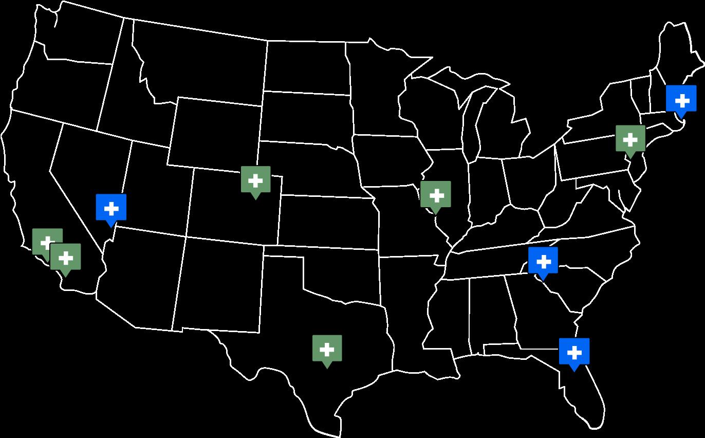 Nerd Street Network Map