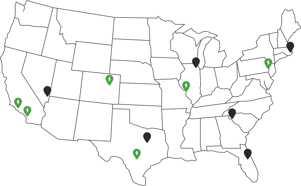 a decorative map of all the existing localhost locations