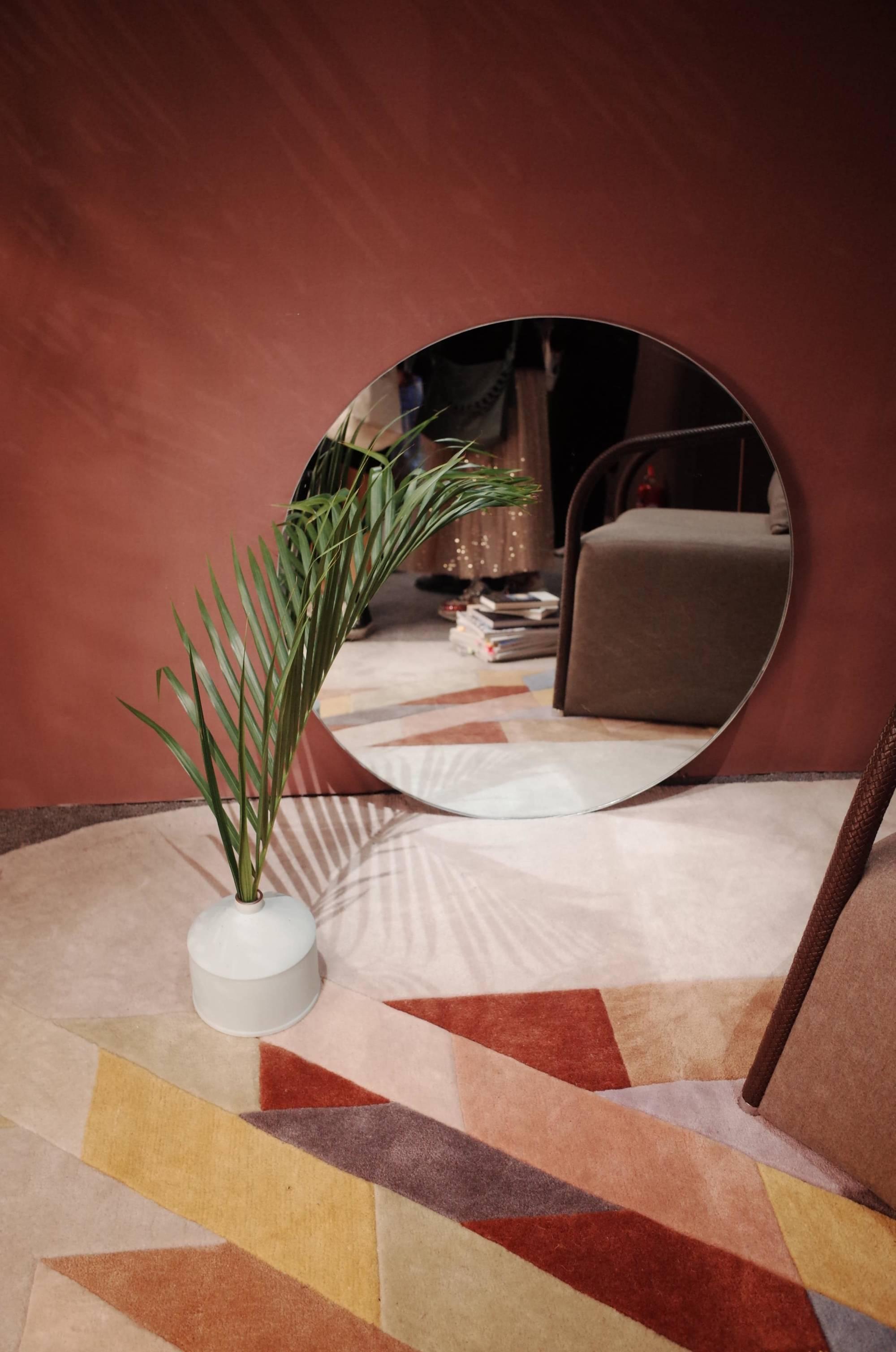 terracotta tint aardekleur beige roze pastel verf schilderen