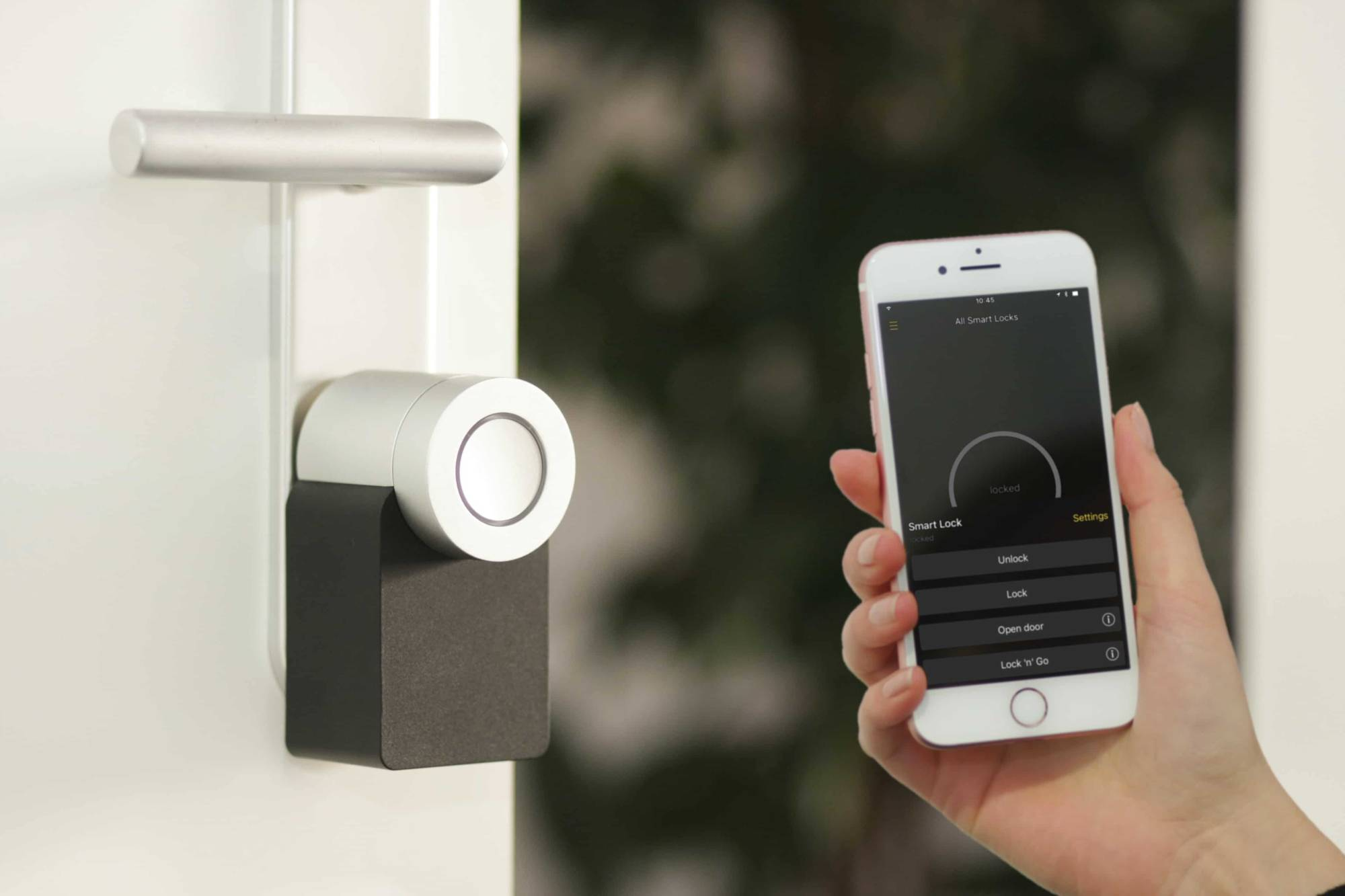 smart key slim deurslot app smarthone