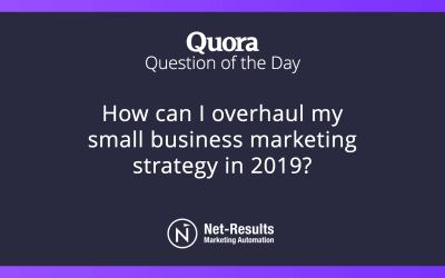 How can I overhaul my small business marketing strategy in 2019?