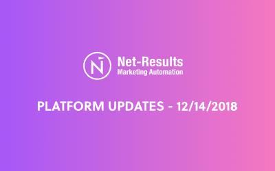 Platform Updates – December 14, 2018