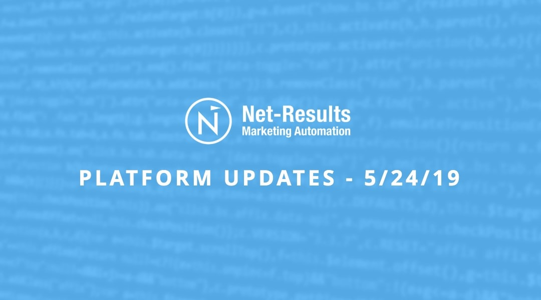 Platform Updates – May 24, 2019