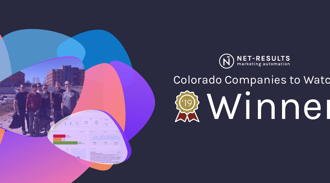 Net-Results named 2019 Colorado Companies to Watch Winner