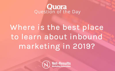 Where is the best place to learn about inbound marketing in 2019?