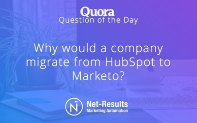 Why would a company migrate from HubSpot to Marketo?
