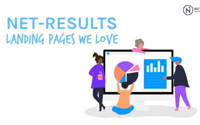 Net-Results Customer Landing Pages Contest Results: Customer LPs We Love!