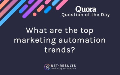 What are the top marketing automation trends?