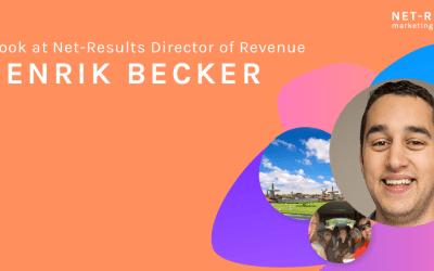 A look at Director of Revenue, Henrik Becker