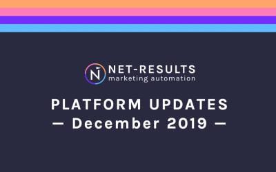Platform Updates – December 2019