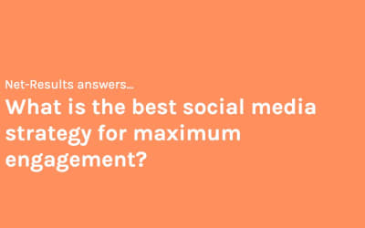 What is the best social media strategy for maximum engagement?