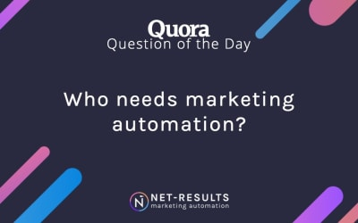 Who needs marketing automation?