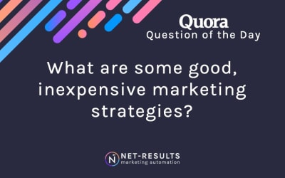 What are some good, inexpensive marketing strategies?