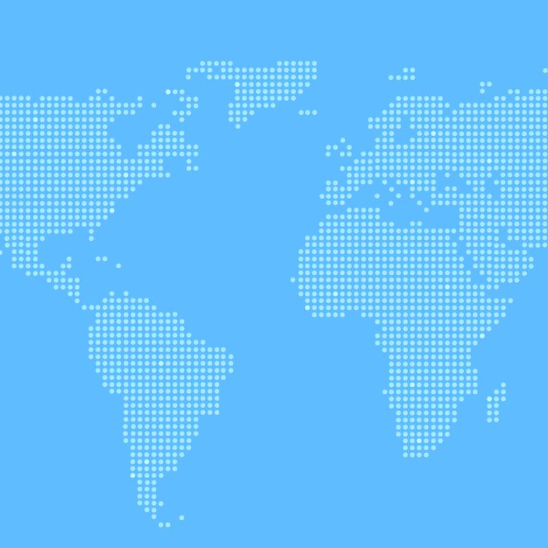 blue global map