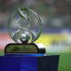 JEONJU, SOUTH KOREA - NOVEMBER 19: AFC Champions League trophy is seen during the AFC Champions League Final 2016 1st leg match between Jeonbuk Hyundai Motor and Al Ain at Jeonju World Cup Stadium on November 19, 2016 in Jeonju, South Korea. (Photo by Chung Sung-Jun/Getty Images)