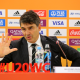 LODZ, POLAND - JUNE 15: Director of FIFA Refereeing, Massimo Busacca speaks with the media prior to the 2019 FIFA U-20 World Cup Final between Ukraine and Korea Republic at Lodz Stadium on June 15, 2019 in Lodz, Poland. (Photo by Alex Livesey - FIFA/FIFA via Getty Images)