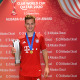 DOHA, QATAR - FEBRUARY 11: Joshua Kimmich of FC Bayern Muenchen poses with the Alibaba Cloud Match Award after the FIFA Club World Cup Qatar 2020 Final between FC Bayern Muenchen and Tigres UANL at the Education City Stadium on February 11, 2021 in Doha, Qatar. (Photo by David Ramos - FIFA/FIFA via Getty Images)