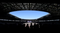 TOKYO, JAPAN - JANUARY 01: A general view prior to the start of the 99th Emperor's Cup final between Vissel Kobe and Kashima Antlers at the National Stadium on January 01, 2020 in Tokyo, Japan. (Photo by Matt Roberts/Getty Images)