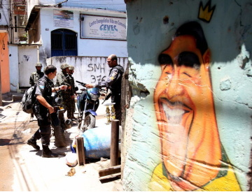 The war on drugs is not working for every day Brazilians. Antonio Lacerda/EPA
