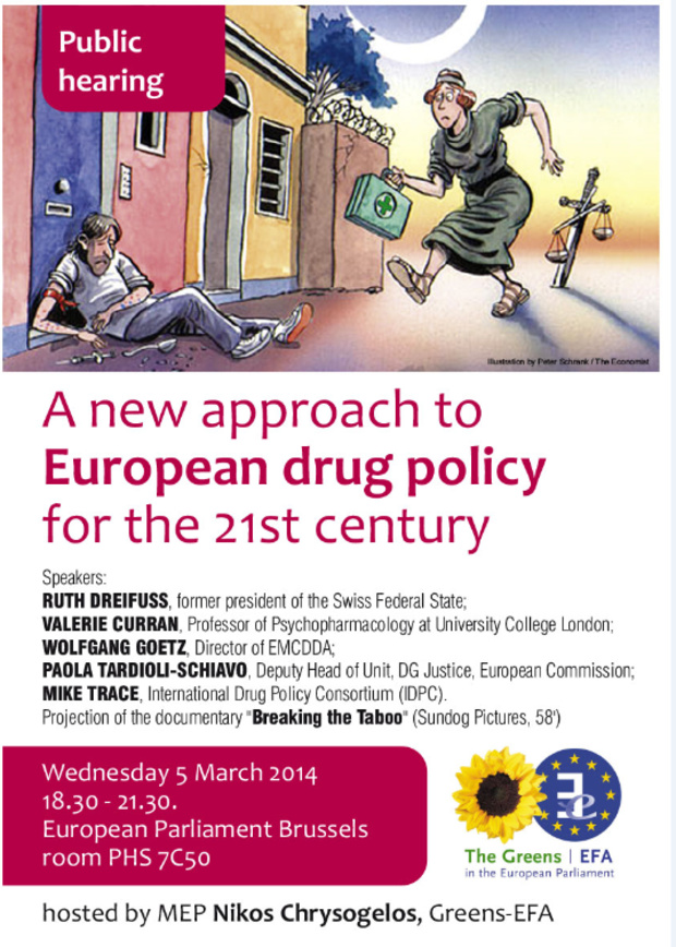 A new approach to European drug policy for the 21st century