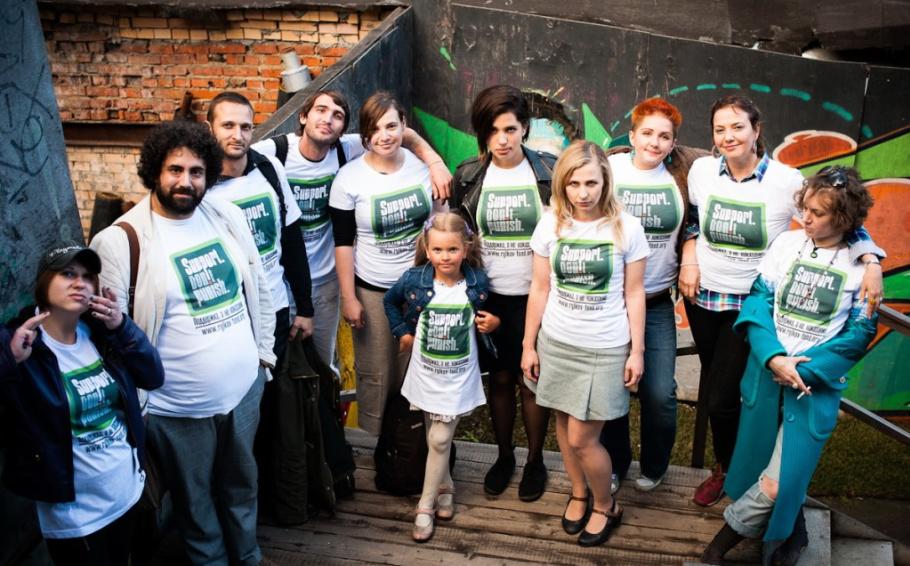 Москва присоединяется к 80 городам мира, протестующим против войны с наркотиками и жестокого отношения к наркопотребителям!
