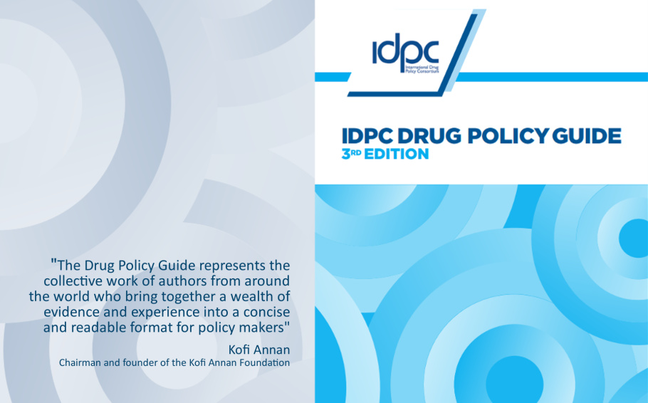 Want to learn more about drug policy reform? Read IDPC's Drug Policy Guide