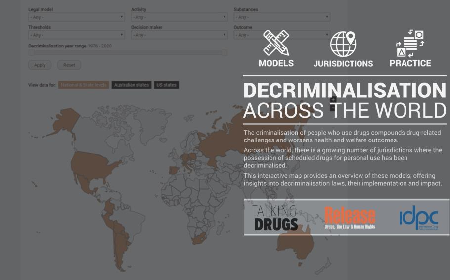 Drug decriminalisation across the world - An interactive map!