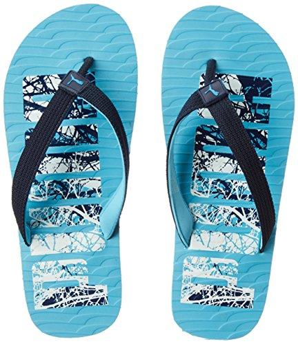06f0214cdde2 Puma Unisex Miami Fashion Dp Peacoat-Blue Hawaii House Slippers - 5 UK India