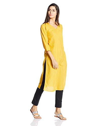 9e23ac5bd7 Buy Fabindia Women's Straight Kurta Online | DTashion.com