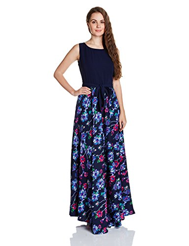 74487f32c Buy Tokyo Talkies Women s A-Line Synthetic Maxi Dress Online ...