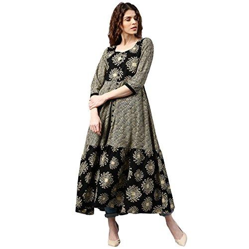7b61ff3dc Buy Libas Women s Anarkali Kurta Online