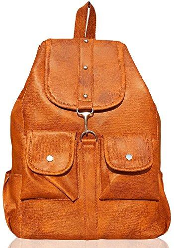 5e05bd5947 DAMDAM Stylish Leather Girls School Bag Travel Bag Bollege Bag Girls    Womens Casual Office Shoulder Backpack Handbags