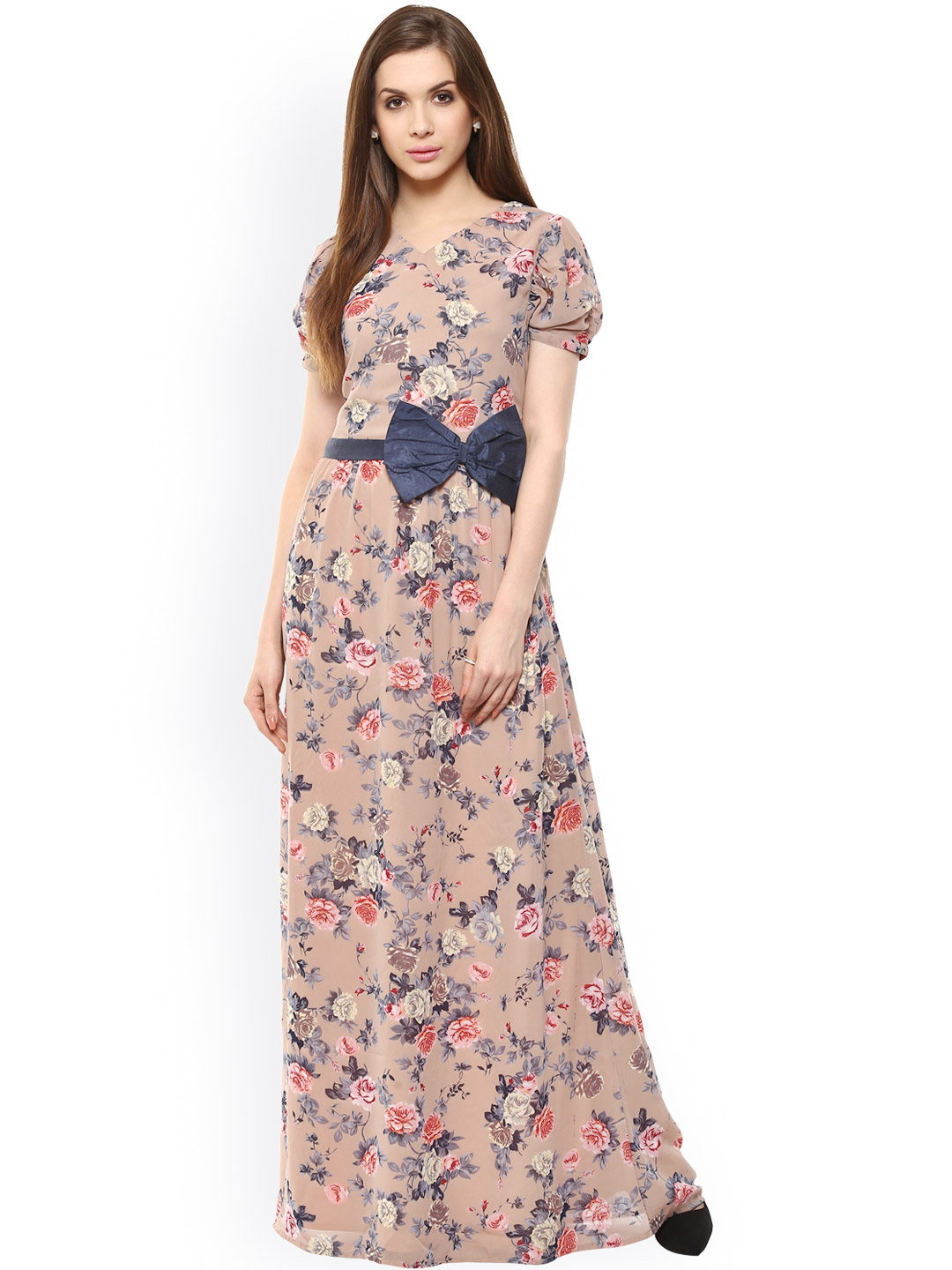 87db0878780 Floral Print Maxi Dress Online India - Aztec Stone and Reclamations