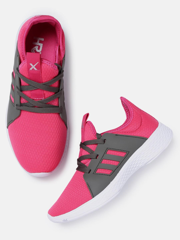 287bd7819fd Buy HRX by Hrithik Roshan Women Magenta Casual Shoes Online ...