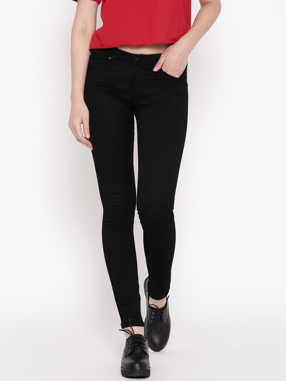 1fc56c05262 Buy Devis Women Black Slim Fit Stretchable Jeans Online