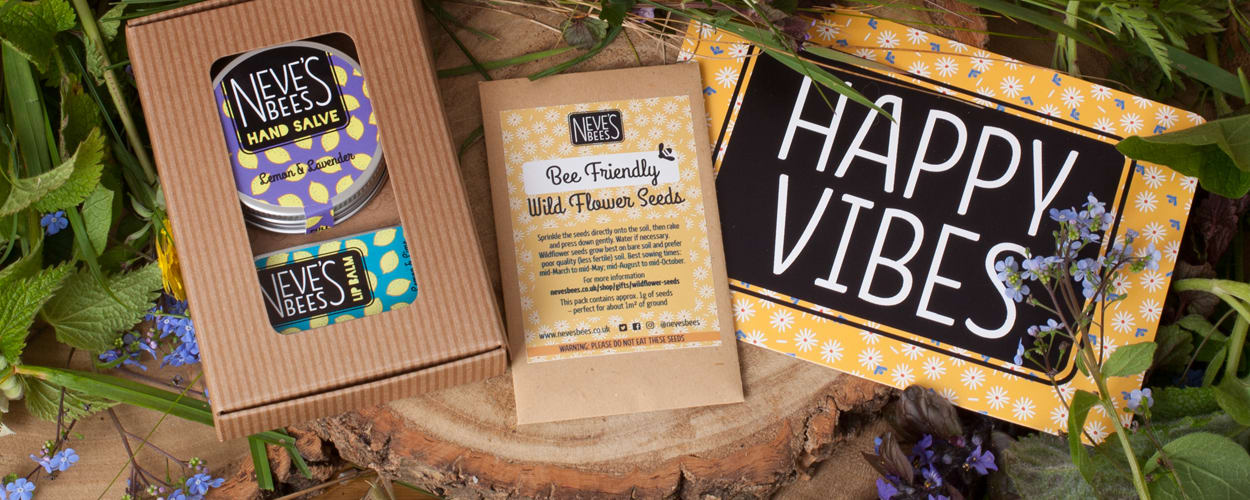 Wildflower seeds from Neve's Bees - Saving the Bees