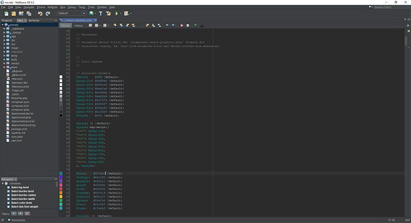 obrazek IDE netbeans
