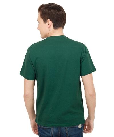 6b9100afb Dark Green Round Neck Plain (Blank) T-Shirt for Men in India