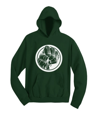 Hulk Smash Hooded Sweatshirt